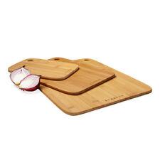 100% Genuine! SCANPAN Bamboo Cutting Chopping Board 3 Piece Set!