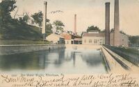 ALLENTOWN PA – Hand Colored Postcard of The Water Works – udb - 1906