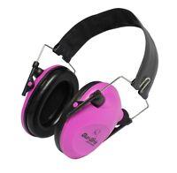 Electronic Ear Muffs Hunting Shooting Protection Headset Earmuffs Girls Pink