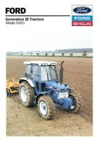FORD TRACTOR 6410 NEW HOLLAND SALES BROCHURE/POSTER ADVERT COVER A3