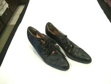 Robert Clergerie black leather shoes heels pumps, sz. 5 M