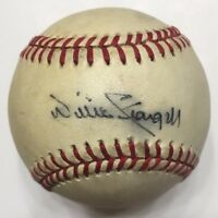 WILLIE STARGELL Signed Autographed Charles Feeney Baseball JSA P12389 Pirates