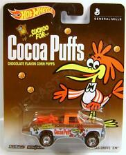 TEXAS DRIVE EM PICKUP TRUCK COCOA PUFFS REAL RIDERS HOT WHEELS DIECAST 2014