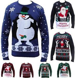Maglione Divertente di Natale Santa Dab Felpa//Maglione da Uomo
