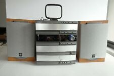New listing Yamaha Gx-500 3 Cd Changer Radio Mini Component Receiver System 2 Speakers.