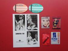 Samantha Fox,promo photo,6 Backstage passes,Rare Originals