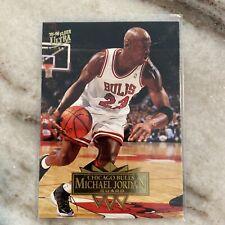 1995-96 Fleer Ultra Michael Jordan #25, Chicago Bulls, HOF