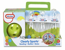 Little Tikes Clearly Sports Bowling Set *   Brand New