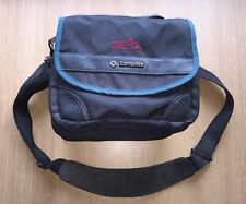 Samsonite Trekking 130 camera plus lenses padded shoulder bag, black/teal