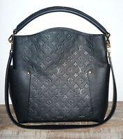 Louis Vuitton Empreinte Bagatelle Tasche in Schwarz, Monogram, Leder *Original*