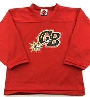 Green Bay Gamblers USHL K1 Hockey Jersey Red Youth M Medium