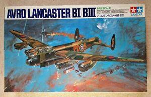 Tamiya 1:48 Avro Lancaster BI/BIII Model Kit - STARTED & POSSIBLY INCOMPLETE