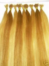 "I-Tip Pre-Bonded Extensions Finest European Remy Hair 100 Strands 18"" Color #24"