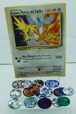 POKEMON BIG BANG JUMBO CARD & ASSORTED POKEMON POGS