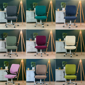 Office Chair Covers Elastic Stretch Computer Chair Covers Seat Cover Cushion