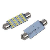 B1N8 10X 42mm 3528 SMD 16 LED Interior Festoon Bulb Lamp