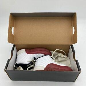 Nike Air Jordan 12 XII Retro Cherry White Red Black Kids Size 7c