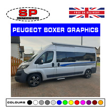 Peugeot Boxer Van Side Graphics Decal Stickers Motorhome Camper 01