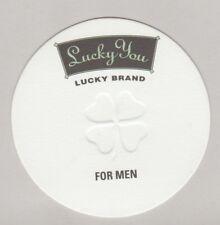 Carte  à parfumer    - perfume card  - Lucky Brand