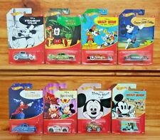 Hot Wheels 2018 Disney Mickey Mouse movie series Complete Set of 8