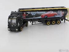 *Herpa 151658 Mercedes-Benz Axor Silo-Sattelzug Weihnachten 2005 Massstab: H0