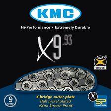 Kette KMC X-9-93 für Shimano, Campagnolo und Sram 9 fach