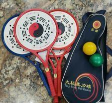 4 Rouli Ball Rackets, 2 Balls, Carry Case