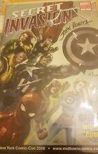 Secret Invasion #1, Midtown Comics Variant limited signed by John Romita, w/COA