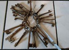lot de 20 clés en l'état