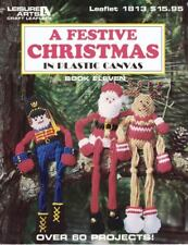 Festive Christmas in Plastic Canvas Vol. 11 by Leisure Arts Paperback 1998