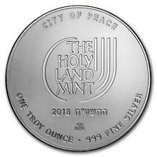2018 Israel 1 oz Silver Walls of Jerusalem Proof SKU#173171