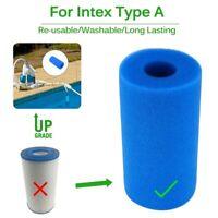 3 pièces filtre mousse réutilisable lavable pour Intex  Type A  intex