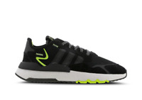 🔥adidas Originals Nite Jogger Men's Trainer (UK 6 - 11) Black-Yellow Brand New