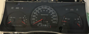 2000 FORD CROWN VICTORIA USED DASHBOARD INSTRUMENT CLUSTER FOR SALE