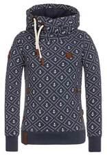 Damen Hochkragen Sweatjacke Shirt Kapuzenpullover Sweatshirt Pullover Hoody DE