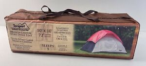 """TexSport Branch Canyon Sport Dome Tent 10' x 10' 72"""" Center Height NEW #01108"""