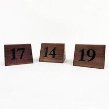 LEGNO ROVERE SCURO tabella Numeri 11-20 tabella Numeri RISTORANTE CATERING BAR