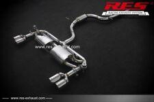 RES Valvtronic Catback+2 Each Side FOR Audi A3(8V7/8VS/8VA) 2014- 1.4T/1.8T/2.0T