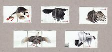 PUFFIN = OWL = RAVEN = EXOTIC BIRDS S/Sheet Stamps w/tabs MNH Canada 2016