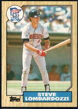 1987 Topps Traded #66T Steve Lombardozzi NM-MT Twins J2M