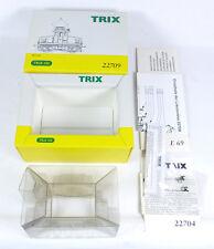 TRIX LEERKARTON 22709 E-Lok BR E 69 02 DRG Leerverpackung OVP empty box H0 1:87