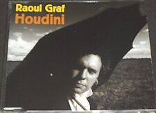 RAOUL GRAF - HOUDINI -3 TRACK RARE CD-