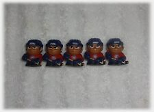 TEENYMATES NHL FIGURES LOT - 5 MONTREAL CANADIENS FIGURE SET - BRAND NEW