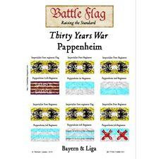 Battle Flag - Bayern & Liga - Thirty years war Pappenheim(Thirty Years War)-28mm