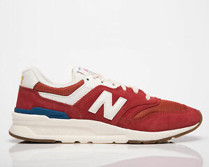 New Balance 997H Men's Team Red Low Athletic Casual Lifestyle Sneakers Shoes