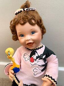 Sylvester's Surprise Ashton Drake Porcelain Doll