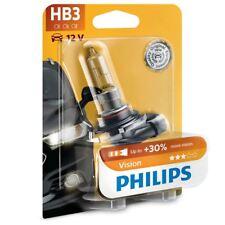 PHILIPS HB3 Vision 12V 65W P20d Headlight Bulb More light 9005PRB1 Single
