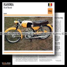 #069.19 Cyclo Sport FLANDRIA 50 RECORD (REKORD) 1963 Fiche Moto Motorcycle Card