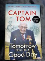 Sir Captain Tom Moore SIGNED Bookplate Tomorrow Will Be A Good Day