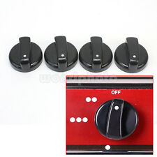 Práctico 4pcs Plástico Interruptor Perilla de Control para Cocina de Gas Horno